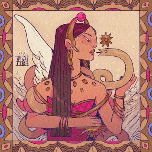 Ilustración del autor Alba BG