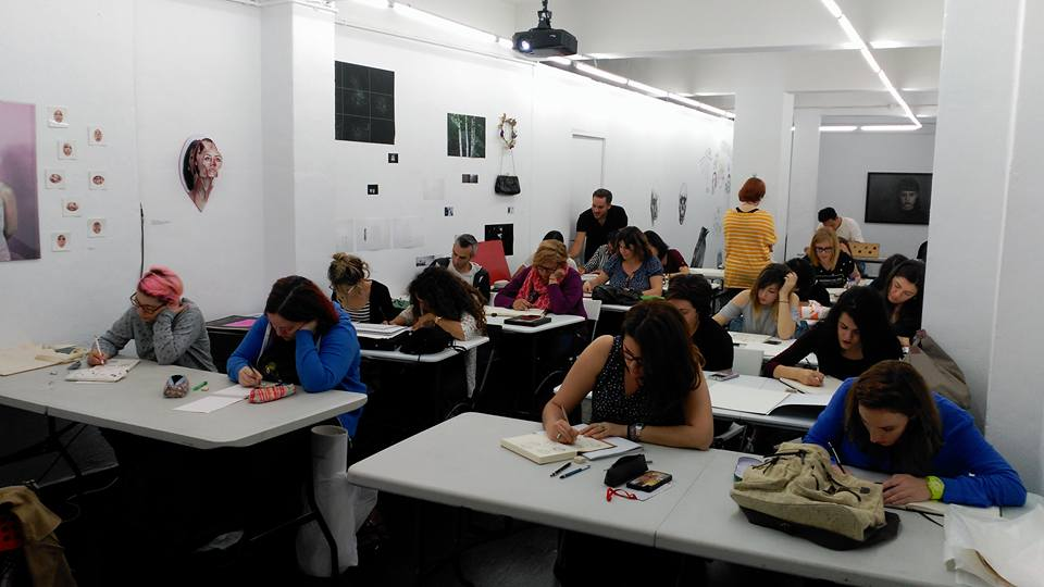 Workshop en LaGaleriaRoja