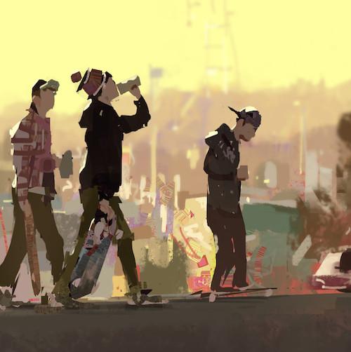 Ilustración del autor Zac Retz