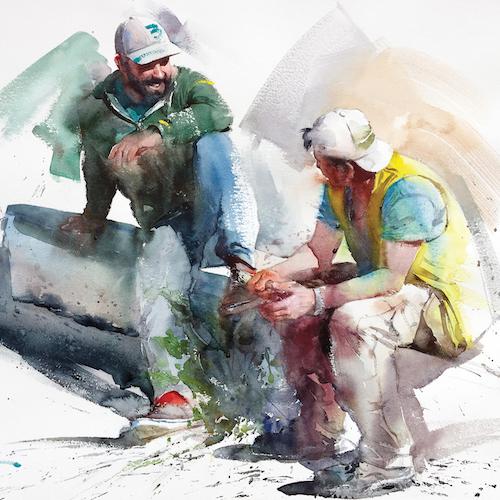 Ilustración del autor Eudes Correia