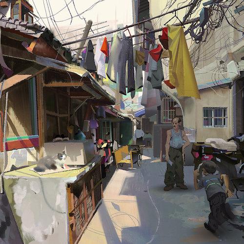 Ilustración del autor Angela Sung