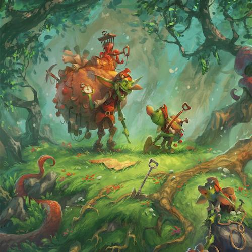 Ilustración del autor John Loren