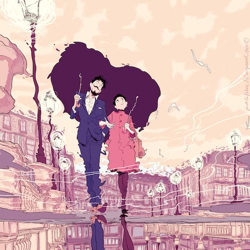 Ilustración del autor Jordi Lafebre